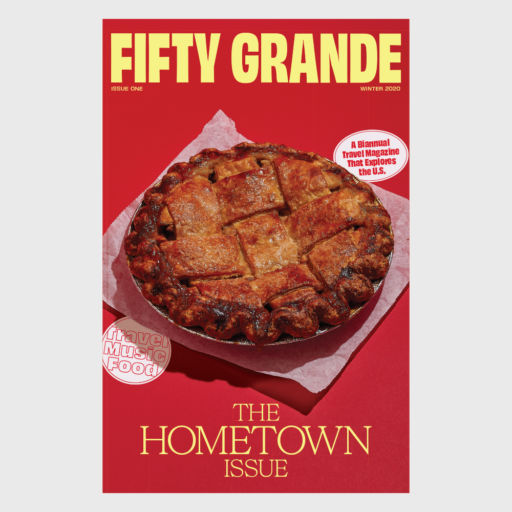 Poster – Fifty Grande Magazine Cover, Issue #1