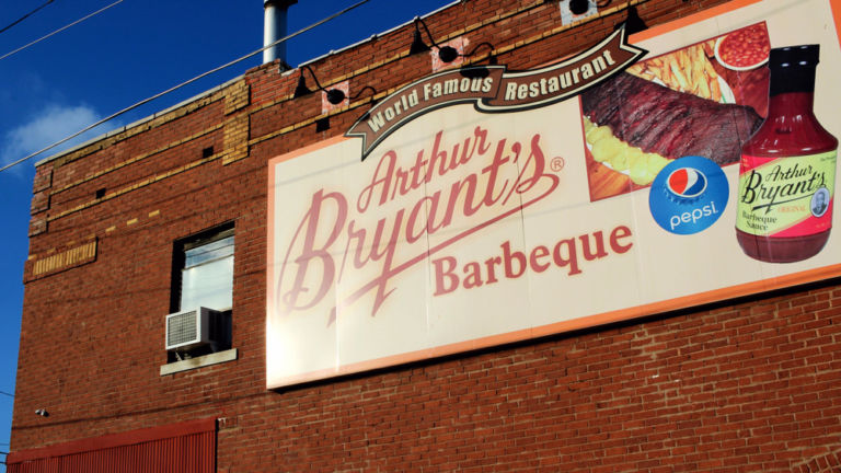 Arthur Bryant's Barbeque, Kansas City.